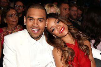 Chris Brown und Rihanna bei den Grammys 2013