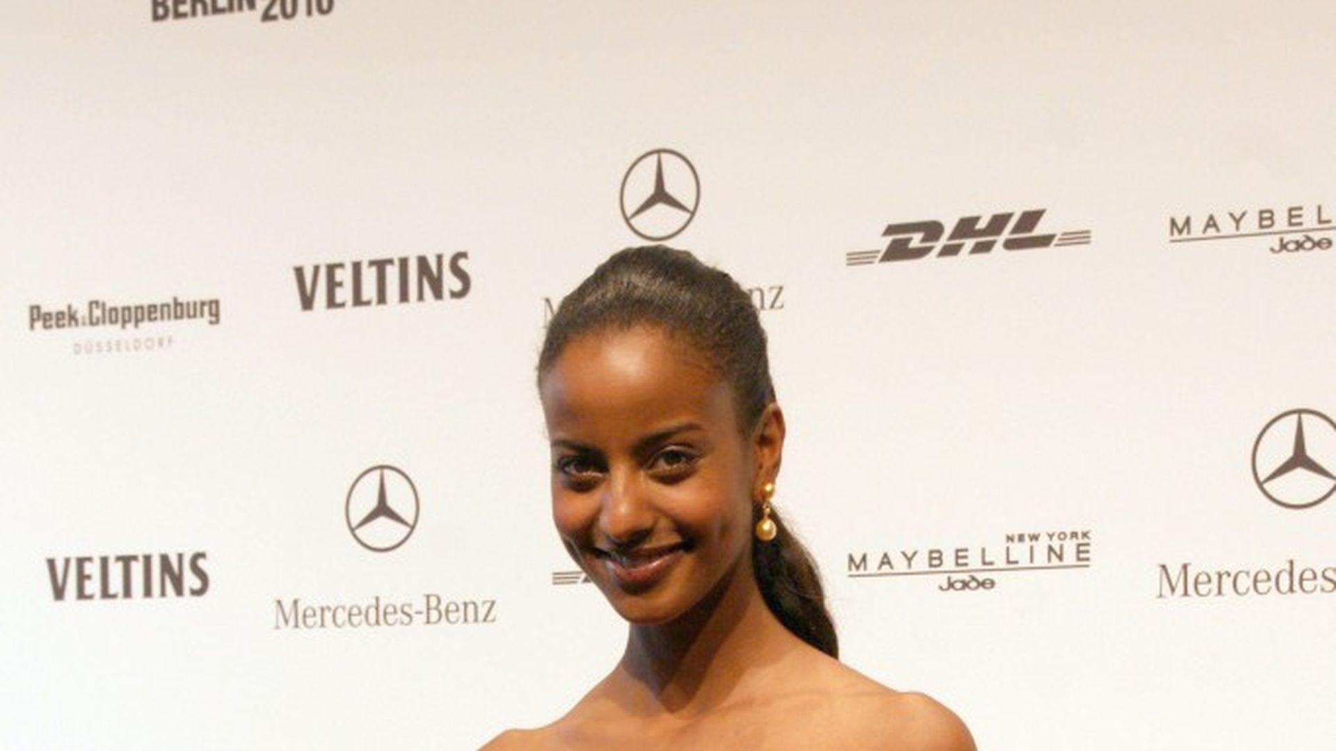 Ethiopia  Sara Nuru to model for Justin Timberlake