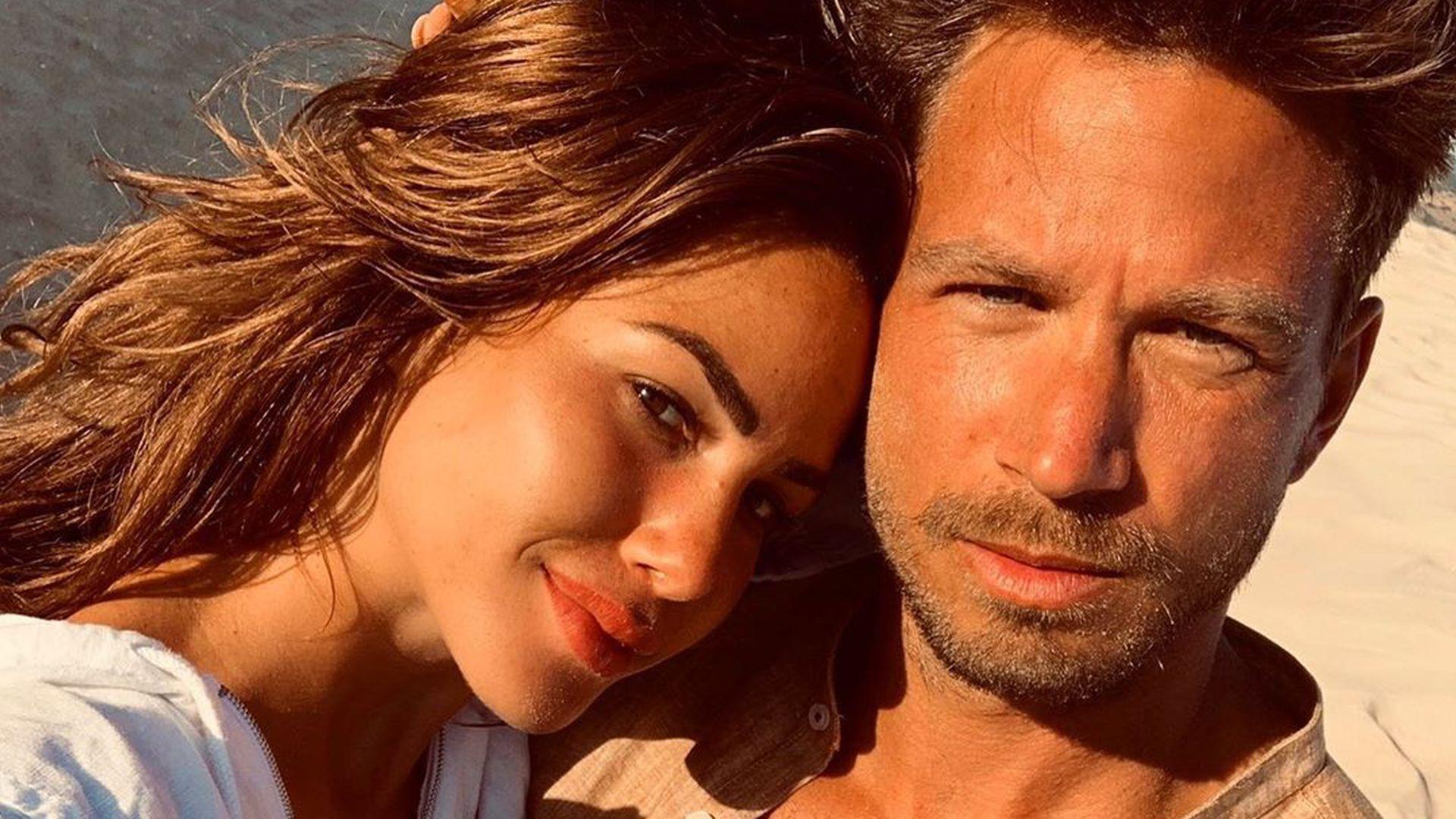Erstes Couple-Selfie von Angelina Heger und Sebastian Pannek
