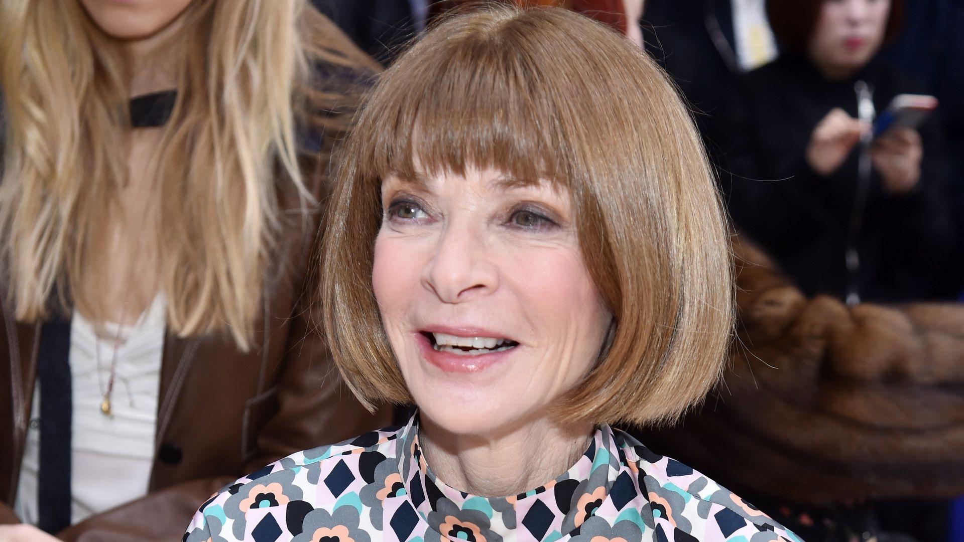 Vogue-Chefin Happy: Anna Wintour Ist Zum Ersten Mal Oma