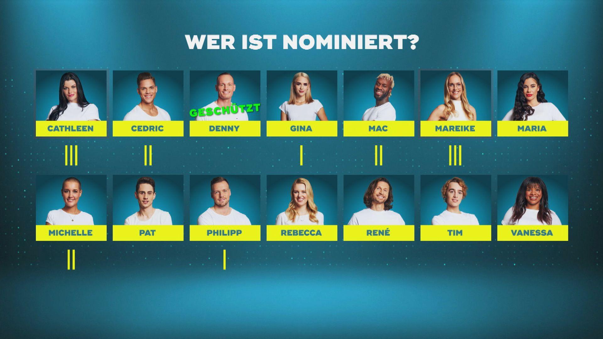 Big Brother Nominiert