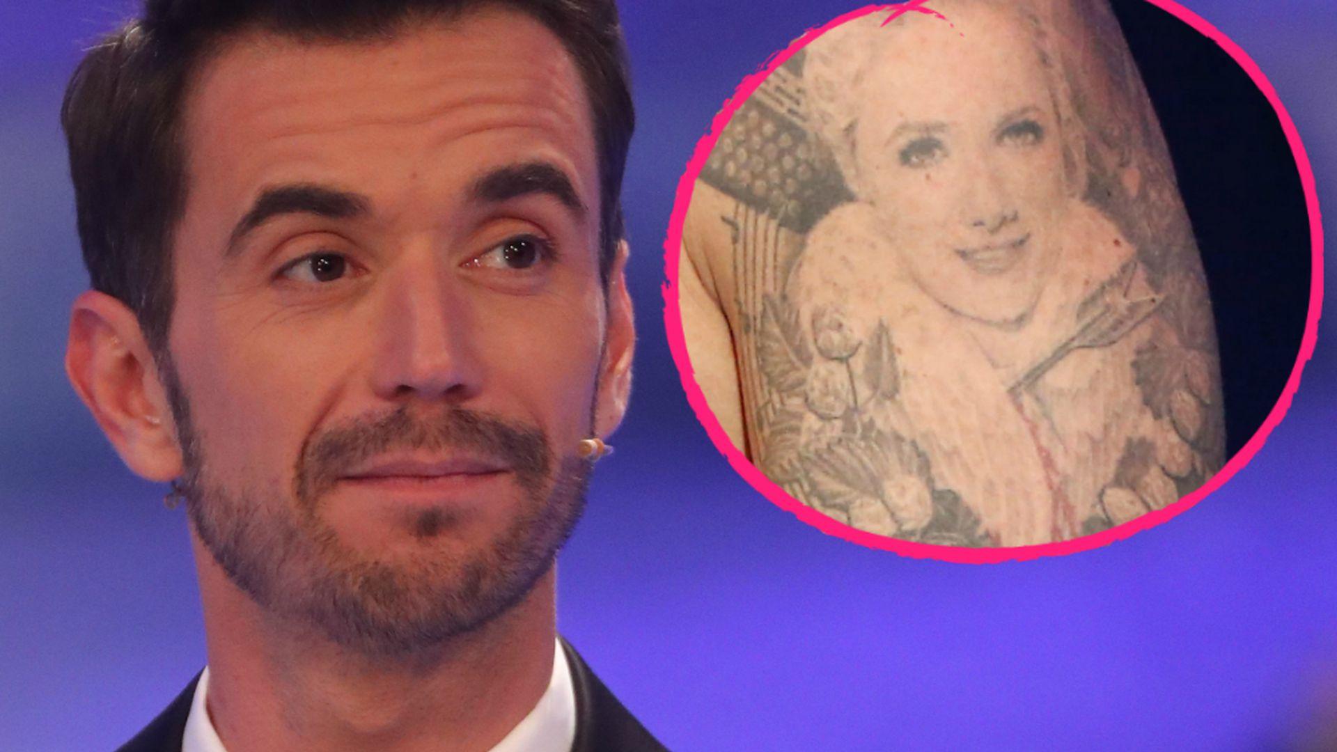 Florian Silbereisen Tattoo Pfeil