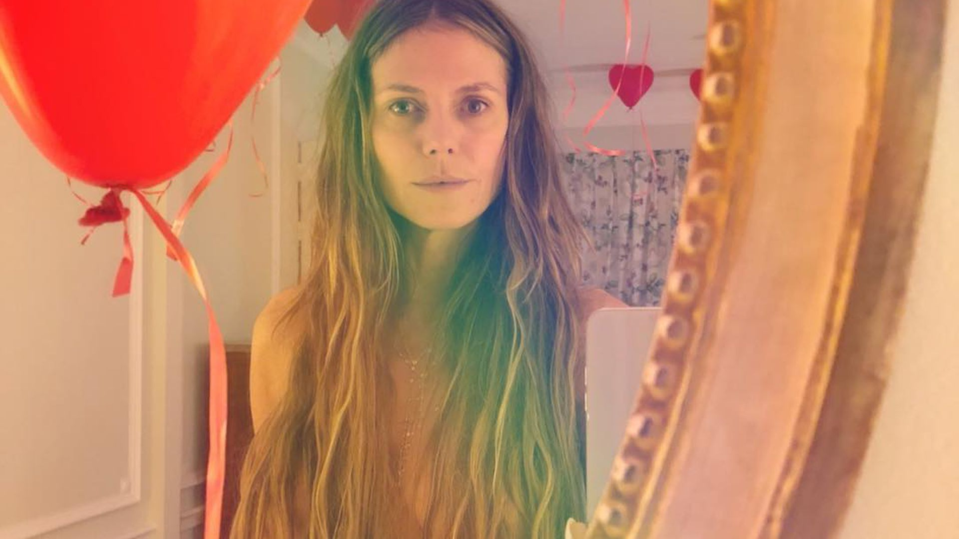 Tr ume von cannes romantischer throwback von heidi klum for Spiegel runterladen
