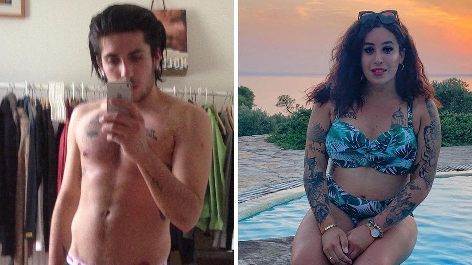Transgender mann zu frau vorher nachher