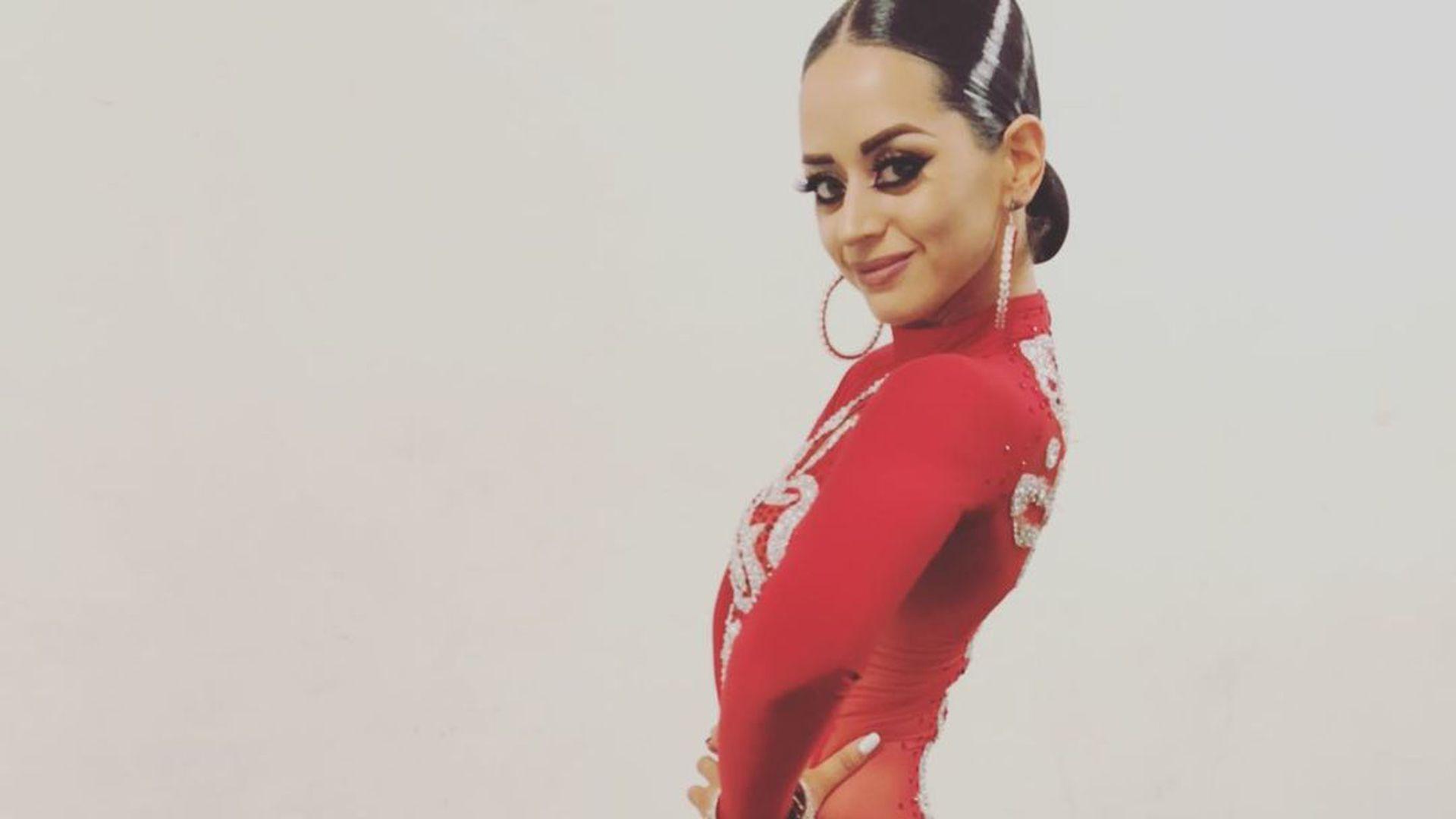So Aufgeregt Ist Profi Malika Vor Erster Let S Dance Show Promiflash De