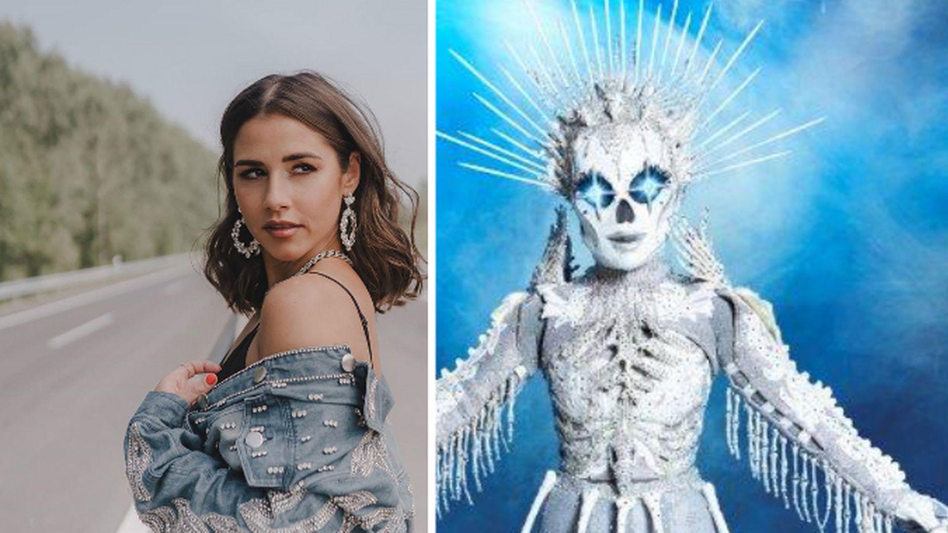 "Freundin sicher: Sarah Lombardi ist ""Masked Singer""-Skelett!"