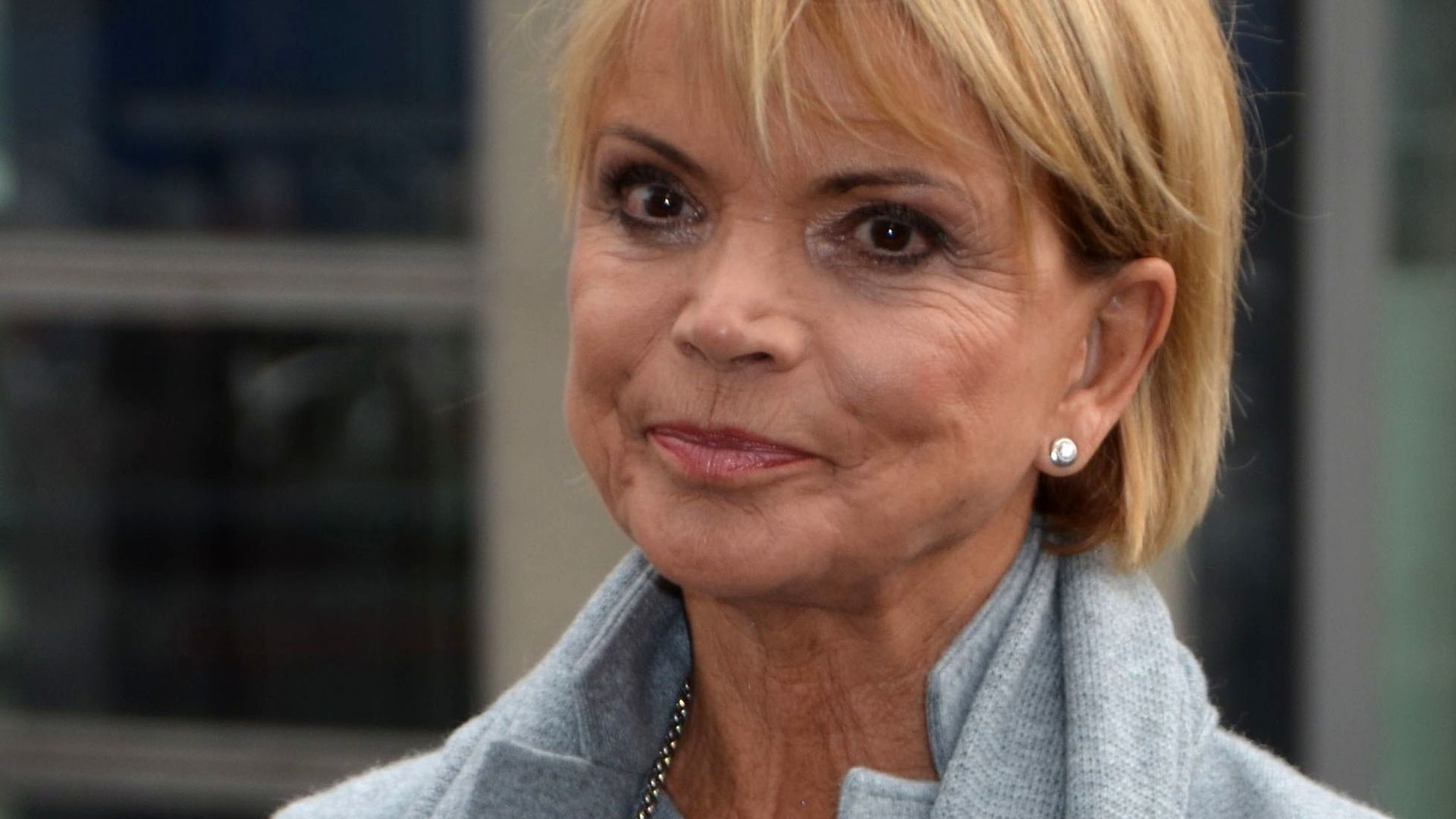 Photo of Uschi Glas and her 2018 clean make up style, products & tips