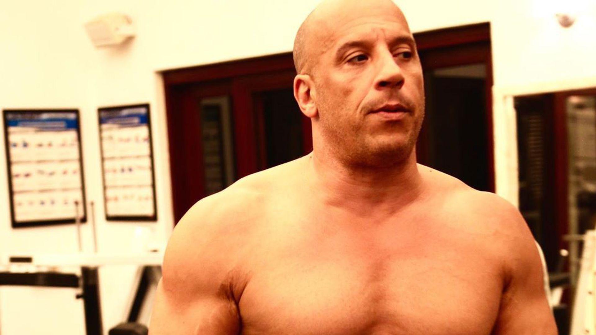 Vin Diesel Mit Haaren