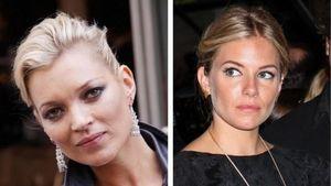 Kate Moss und Sienna Miller
