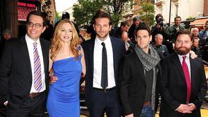 Bradley Cooper, Zach Galifianakis und Heather Graham