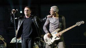 U2 starten Deutschland-Tour mit Mega-Show