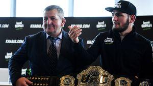 UFC-Star Khabib Nurmagomedov: Vater (†57) tragisch gestorben