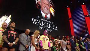 Traurig! So verabschieden die Wrestler den Warrior