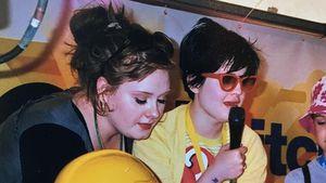 Adele Adkins und Kelly Osbourne 2007