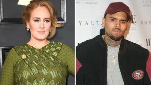 Wie bitte? Läuft da etwa was bei Adele und Chris Brown?