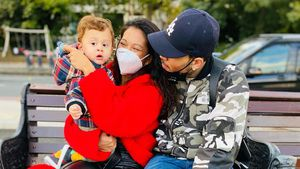 Ganz der Papa: Baby Aeko sieht Chris Brown total ähnlich!