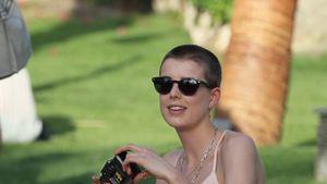 Krass: Agyness Deyn hat sich den Kopf rasiert!