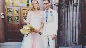 Agyness Deyn und Joel McAndrew bei ihrer Hochzeit