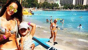 Alessandra & Anja Ambrosio: Stylishe Bikini-Twins