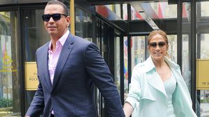 Alex Rodriguez und Jennifer Lopez in New York