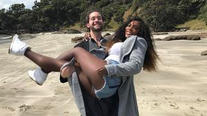 Alexis Ohanian und Serena Williams im April 2017