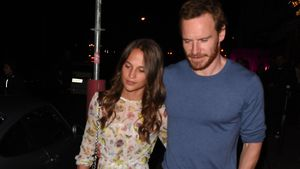 Alicia Vikander und Michael Fassbender 2017 in Paris
