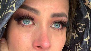 Für mehr Realität im Netz: Aline Bachmann zeigt sich weinend
