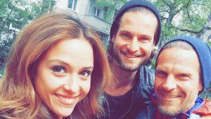 Alisa, Katsche und Florian Keck
