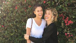 Alisar Ailabouni und Sarina Nowak, Models
