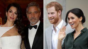 Mit Harry & Meghan: Die Clooneys haben oft Doppeldates!