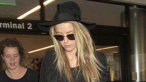 Amber Heard am Flughafen Los Angeles