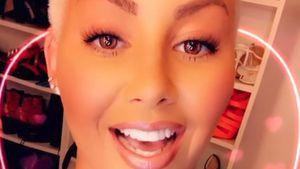 Doch Fake? Amber Rose plötzlich ohne Tattoo auf der Stirn?
