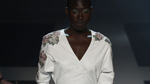 1. Fashion Week! Hier läuft Aminata für Michalsky