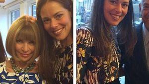 Fashionista: Ana Ivanovic posiert mit Anna Wintour