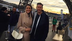 Angel Flukes und Lee in Paris