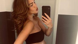 Fans feiern Angelina Heger für ihren fitten Schwanger-Body!