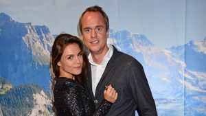 Angelina und Alexander Posth bei einer Party In Berlin