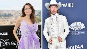 Irre Kombi: Angelina Jolie genießt einen Abend mit DJ Diplo
