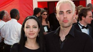 Angelina Jolie und ihr Bruder James bei der Oscarverleihung 2000