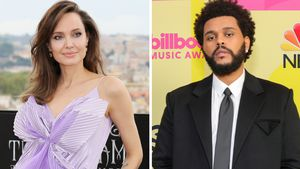 Angelina Jolie und The Weeknd gemeinsam auf Konzert erwischt