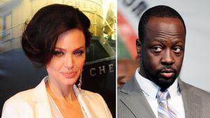 Jolie holt sich Haar-Tipps von Wyclef Jean!
