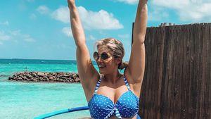 So hält sich Curvy-Model Angelina Kirsch im Lockdown fit!