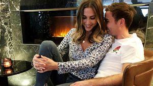 Seltenes Love-Pic! Mario Götze so verliebt in Ann-Kathrin!