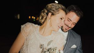 Anna Hofbauer teilt erstes Hochzeitsfoto mit ihrem Mann Marc