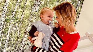 So süß! Anna-Maria Zimmermann schwärmt von der Mutterschaft