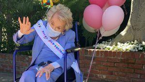 Kirk Douglas' Witwe wurde 101: So feierte sie ihren Ehrentag