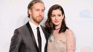Anne Hathaway und ihr Ehemann Adam Shulman in New York