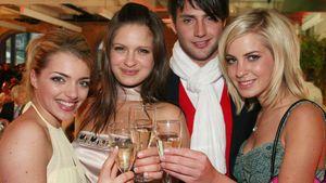 Jasmin Weber, Anne Menden, Josephine Schmidt und Stefan König