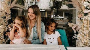 Endlich vereint: Anne Wünsche sieht ihre Töchter wieder