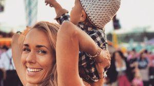 Oktoberfest mit Baby: Die Carpendales feiern mit Mini C!